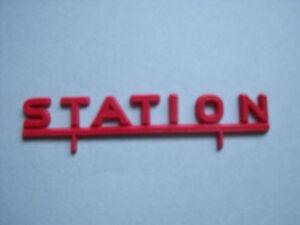 "ENSEIGNE  "" STATION ""  POUR  GARAGE  NIL  VROOM  1/43"
