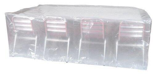 HOUSSE DE PROTECTION BACHE POUR TABLE DE JARDIN 220X120H70 REF PRH090220X120