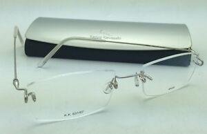6cb4365df97e KAZUO KAWASAKI Eyeglasses MP 631 07 SA 50 Rimless Titanium Matte ...