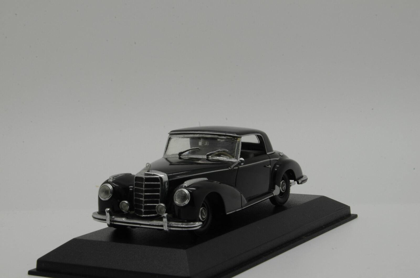 Rare    MERCEDES 300 S coupé noir 1951-55 MINICHAMPS 032320 1 43
