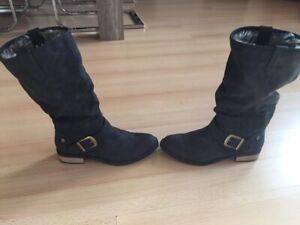Details zu Anna Field Stiefel Damen Größe 39 Kaum Getragen