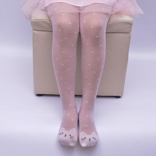 Baby Girl Long Sock Stocking Cat Dot Hosiery Pantyhose Socks Tights  Acces