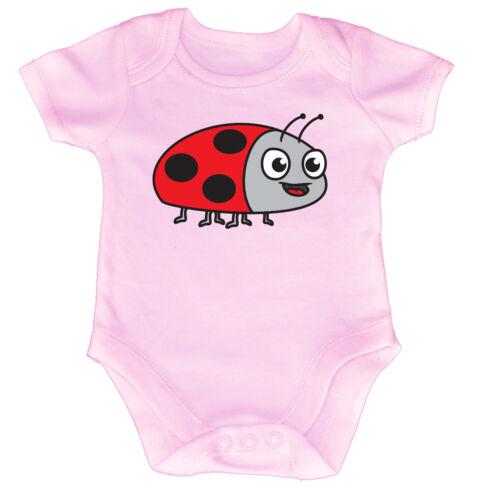 Funny Baby Infants Babygrow Romper Jumpsuit Am Ladybird