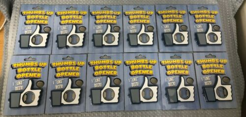 Thumbs Up Novelty Bottle Openers Bundle Box Of 12 New Father/'s Day Gift