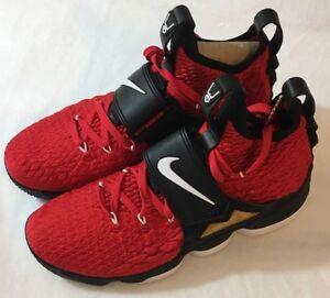 226c129a110ba New Nike Lebron 15 XV Prime Red Diamond Turf DS AO9144-600 Men s ...