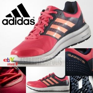 huge sale 21fa6 23b6d Image is loading ADIDAS-WOMENS-DURAMO-7-ATR-RUNNING-SHOES-BOOST-