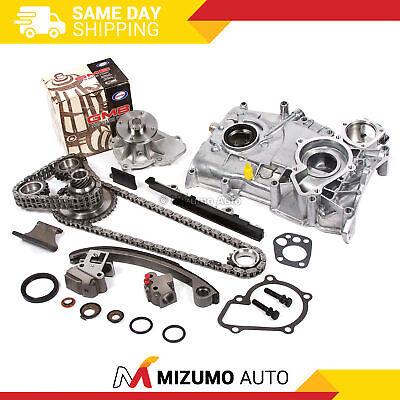 MOCA New Timing Chain Kit /& Water Oil Pump for 1991-1998 Nissan 240SX 2.4L L4 16V DOHC KA24DE