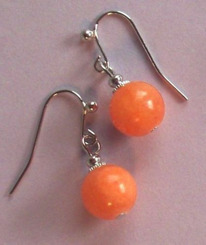 CANDY JADE French Hook drop earrings handcrafted YOU CHOOSE