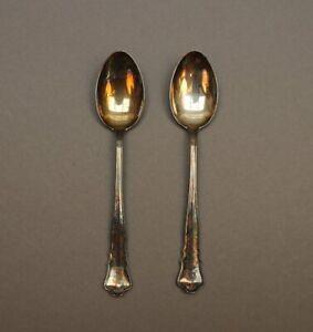 2 antike Löffel mit Adelswappen Silber 800 Wilkens - Adel Wappen mit Krone - S3