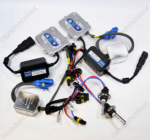 BMW-E60-5-SERIES-HID-Xenon-Kit-De-Conversion-Canbus-H7-55W-Balastros-Slim