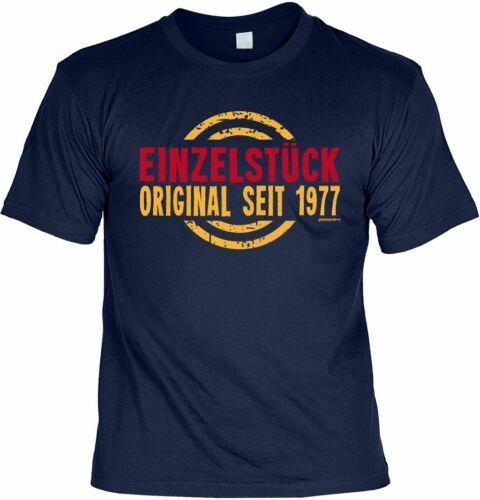 Einzelstück Original Seit 1977 Funshirt Geschenk 40 Geburtstag T-Shirt