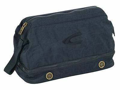 Di Larghe Vedute Camel Active Journey Wash Bag Cultura Borsa A Sacco Dark Blue Blu Nuovo-