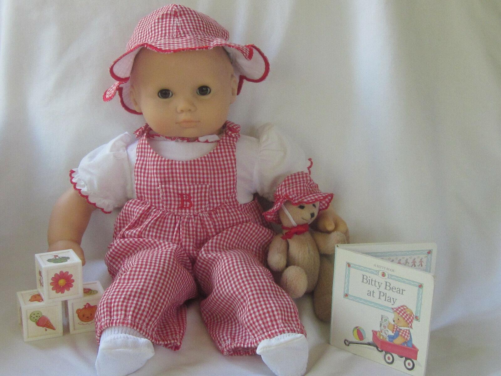 American Girl Bitty Baby Doll agradable Diversión en el sol día soleado Juego Conjunto De Oso