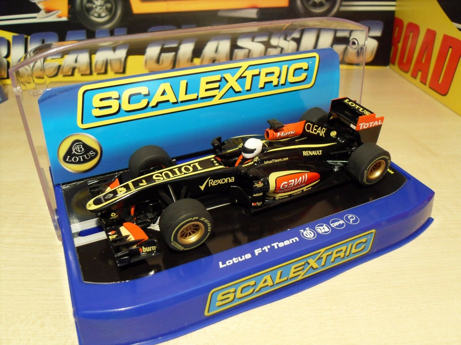 Scalextric C3364 Lotus F1 Team 2013 'Kimi Raikkonen' - Brand New in Box.