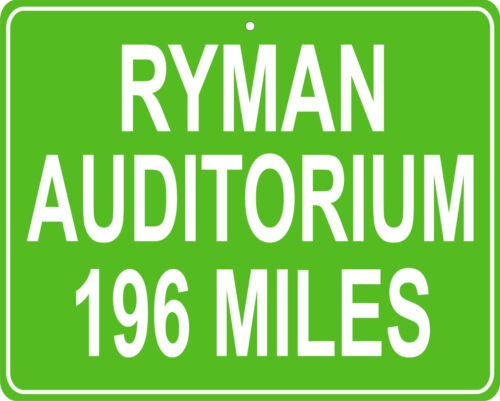 distance from your house Grand Old Opry House Ryman Auditorium in Nashville,TN