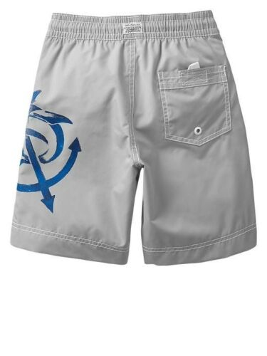 NWT GAP Kid Anchor Shark Swim Trunks Short Bottom Swimwear UPF 50 Boys L 10