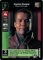 Mint//NM Royal Defender Enhanced Battle of Naboo Young Jedi YJ: Captain Panaka