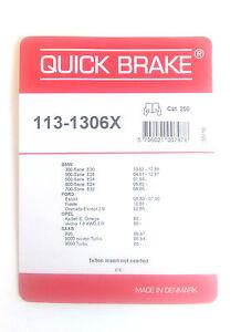 Quick Brake 113-1306X Kit Pour Plaquettes de Frein ATE