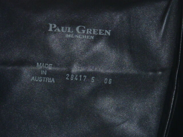 Paul Paul Paul Grün Stiefel schwarz schwarz Gr. 38 0d6714