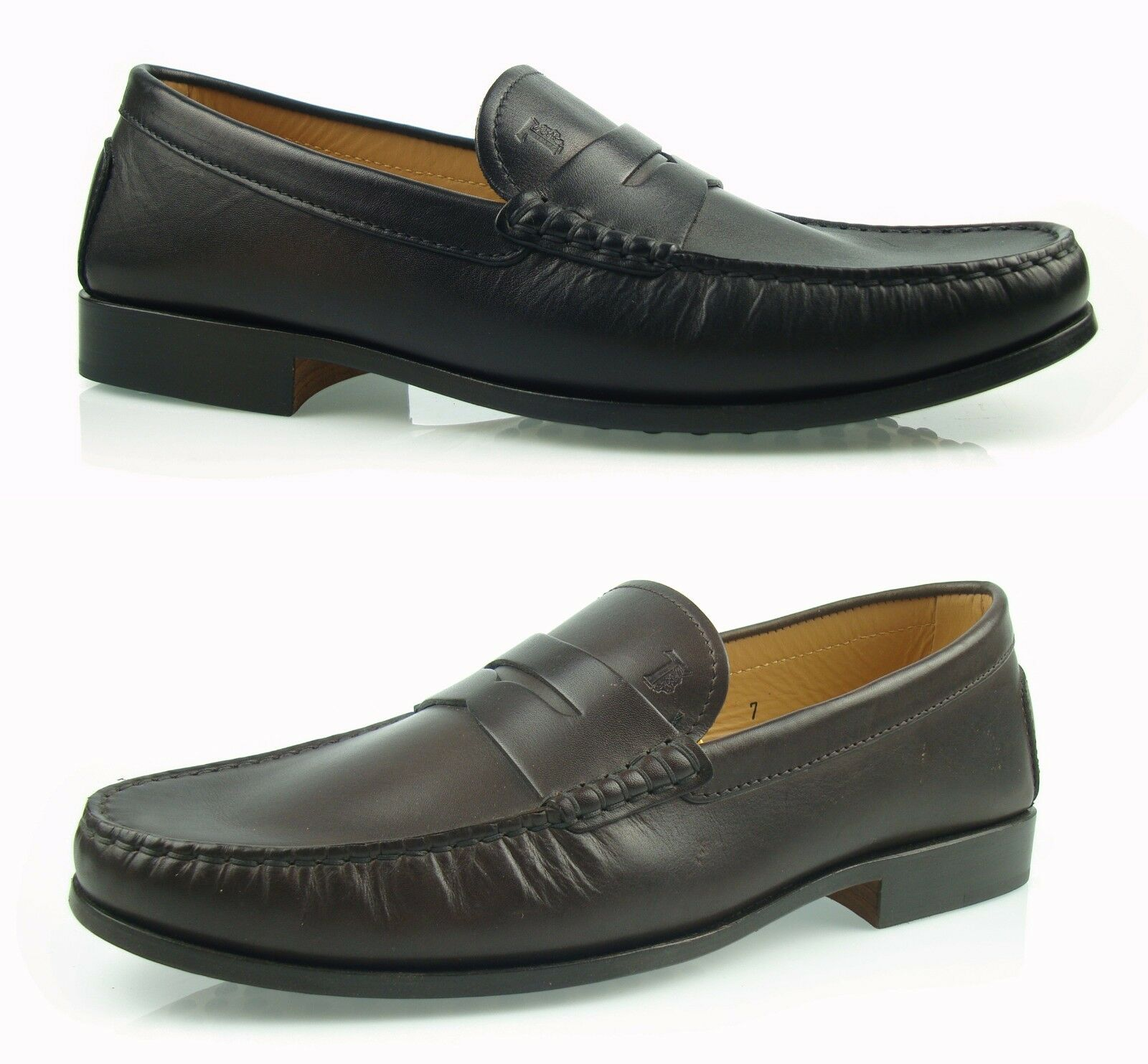 Tod's MEN'S MOCCASINS NEW CITTA' FORMALE shoes loafers  100% AUTHENTICH mg1