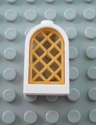 PICK YOUR COLOR !! Rounded Top Window 1 x 2 x 2 2//3 Pane Lattice LEGO