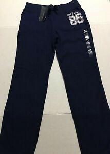 Tommy Hilfiger Nina Sweatpants Loungewear Pantalones 12 14 Anos Azul Marino Pantalones Nuevo Nuevo Con Etiquetas Ebay