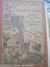 KU41 Ortleb Der Antiquitäten Sammler Übersicht der alten Künste nebst Anleitung
