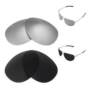 c6f7403bb0 Image is loading Walleva-Titanium-Black-Polarized-Replacement-Lenses -For-Smith-
