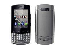 Nokia Asha 303 Graphite (Unlocked)with Touchscreen & QWERTY Keypad