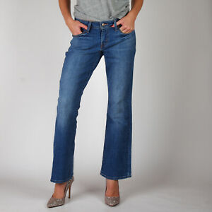 Levi-039-s-529-Curvy-Bootcut-Mittelblau-Damen-Jeans-29-34