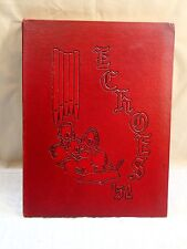 1952 ANDERSON COLLEGE THEOLOGICAL SEMINARY YEARBOOK, THE ECHOES, ANDERSON, IN