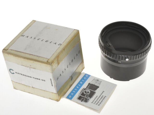 Hasselblad extension tube 55 code 40029, Planar 80/2.8 Sonnar 150/4, exc+++