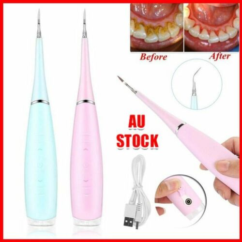 Medical Electric Dental Scaler Tartar Calculus Plaque Remover Teeth Stains WY