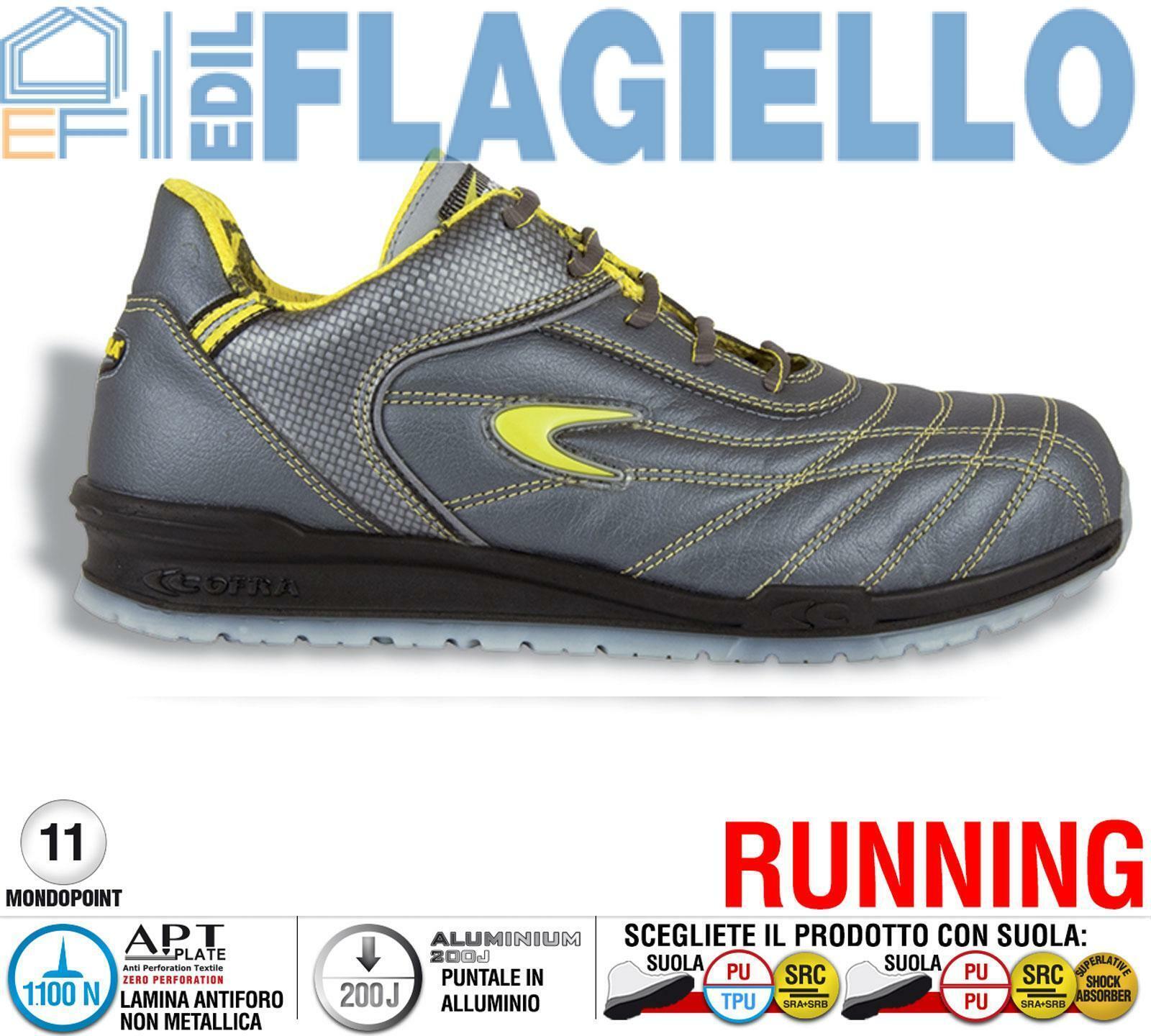 Scarpa da Lavoro Antinfortunistica Cofra FOGH S1 P SRC taglie 39 - 47 | Molti stili  | Maschio/Ragazze Scarpa