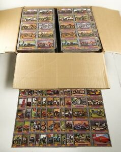 Over (1300) 1993 Champs American Vintage Cycles 10-Card Uncut Sheets ^ Harley