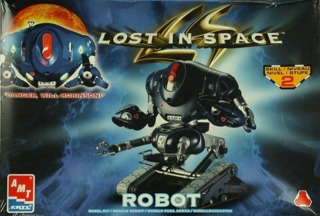 2001 amt ERTL 1 6 Lost in Space Robot Plastic Model Kit model kit open box