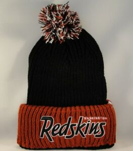 ce44a32a3 Washington Redskins NFL Cuff Knit Pom Hat 47 Brand 673106665383