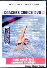 Basic Backstroke Swimming Technique (DVD, 2005)