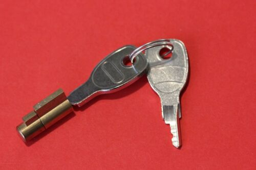 """Hitch Lock for Pressed Steel Hitch ALKO Style for Securing /""""2 Keys Supplied/"""""""