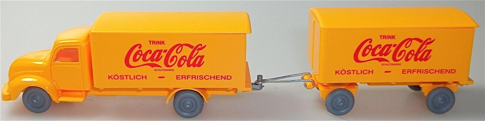 Coca - cola magirus runde haube lkw - Orange, Orange imu h0 nach   58 å