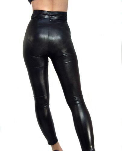 Xl Madame nera effetto Xxxl Fantasy Vita alta S bagnato Leggings M Tall lucida Xxl L AqwPxwrY