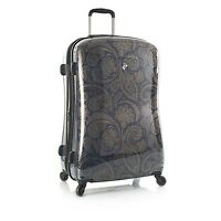 Heys Indigo Paisley Fashion Suitcase 30 Spinner Luggage