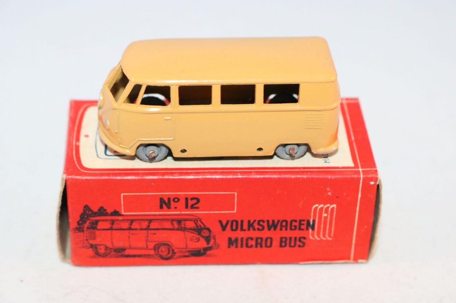 Morestone 12 Budgie Budgie Budgie ESSO Petrol Pump series Volkswagen Micro Bus mint in box 76e5d4