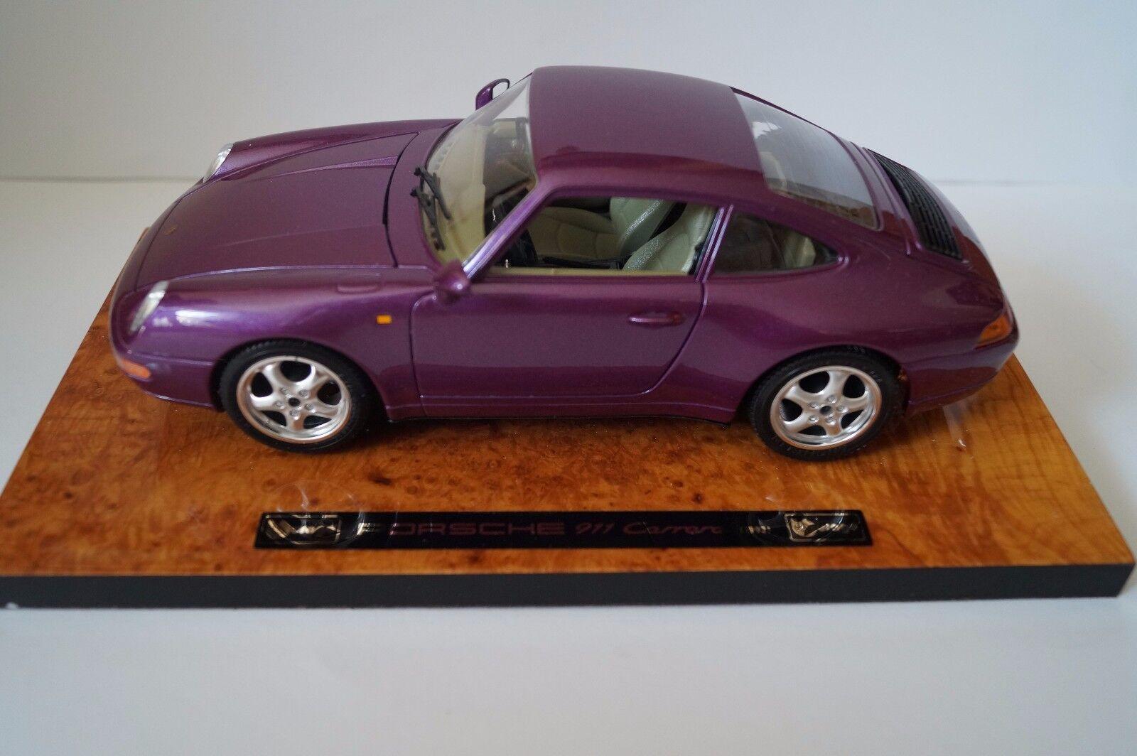 Bburago Burago maqueta de coche 1 18 Porsche 911 carrera 1993 cod. 3760  en OVP