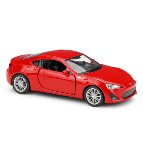 Welly 1:36 TOYOTA 86 Red Diecast Model Car