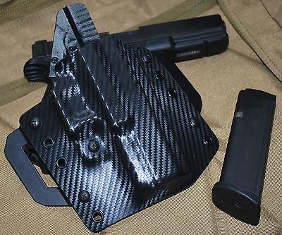 Pancake OWB Carbon Fiber Kydex Holster for most Canik Models by 1441 Gear