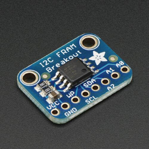 Arduino,1895 zB f 256Kbit//32KB Adafruit I2C Non-Volatile FRAM Breakout Board