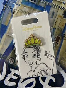 2021-Princess-Tiana-Crown-Princess-And-The-Frog-Disney-Princess-Tiara-Pin
