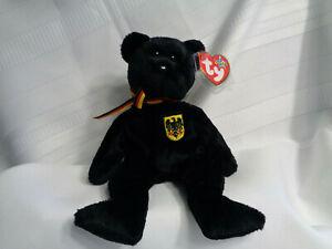Ty Freiherr Von Schwarz the Bear Beanie - Mint w/Mint Tags - PE Pellets
