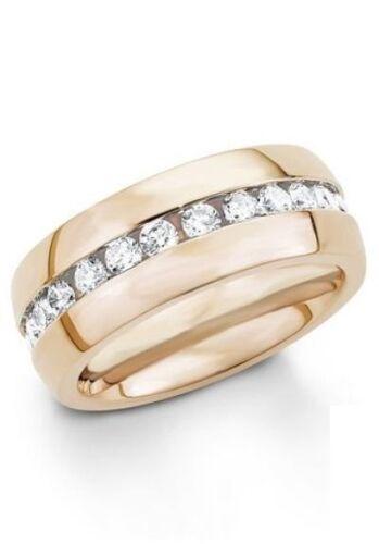 """S Oliver anillo con circonita,/"""" 9029204/"""" talla 18"""